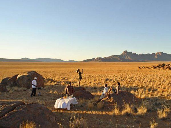 AndBeyond Sossusvlei Desert Lodge drink stop