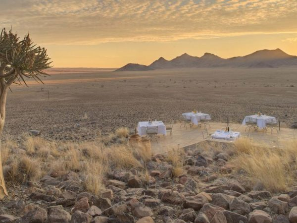 AndBeyond Sossusvlei Desert Lodge landscape