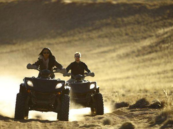 AndBeyond Sossusvlei Desert Lodge quad biking