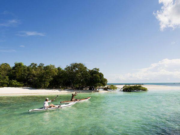 AndBeyond Vamizi Island activities kayaking