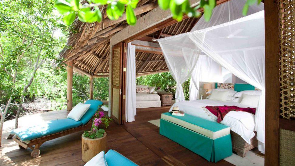 AndBeyond Vamizi Island bedroom exterior