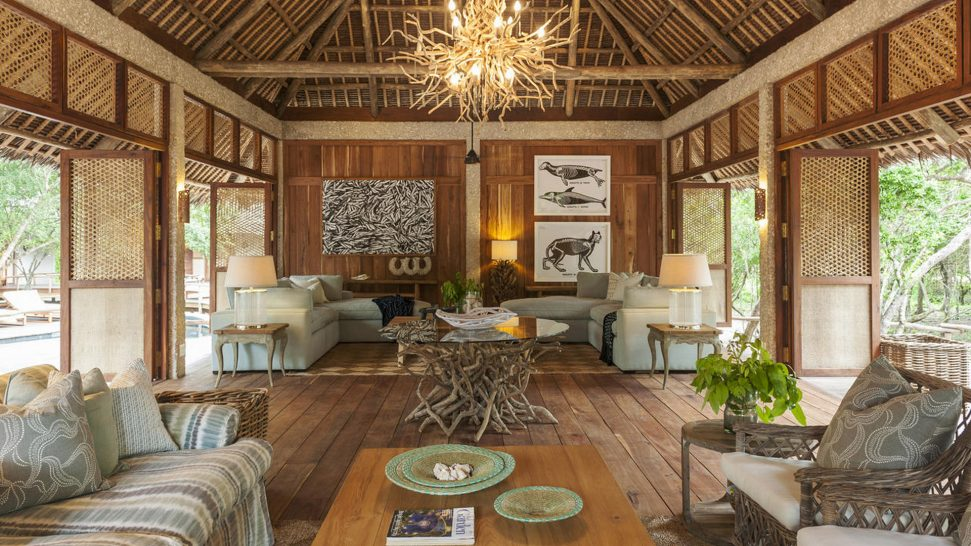 AndBeyond Vamizi Island guest area