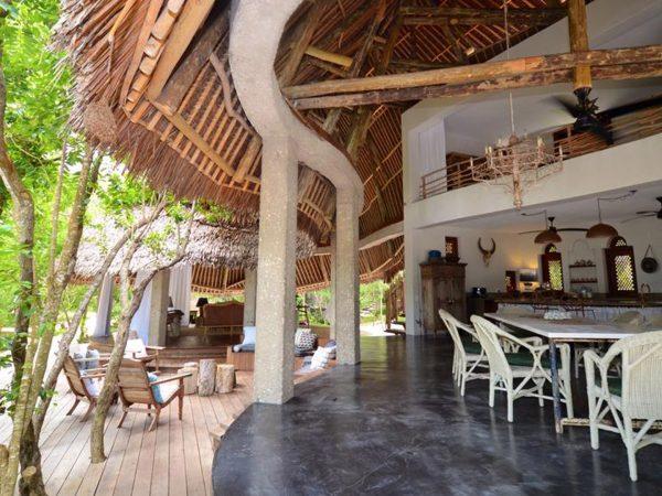 AndBeyond Vamizi Island living