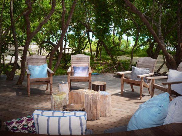 AndBeyond Vamizi Island living area