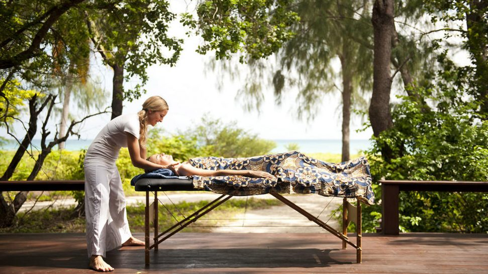 AndBeyond Vamizi Island massage
