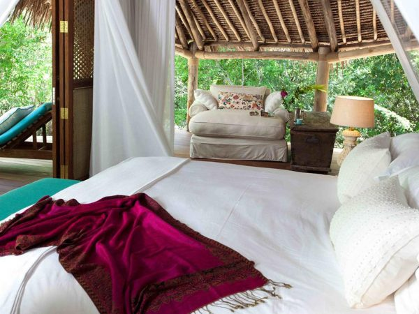 AndBeyond Vamizi Island master bedroom