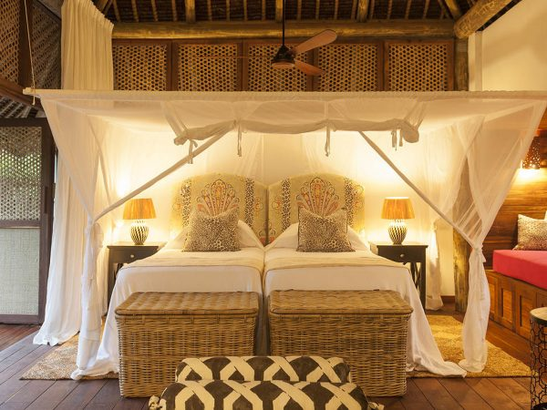 AndBeyond Vamizi Island papiliob bedroom