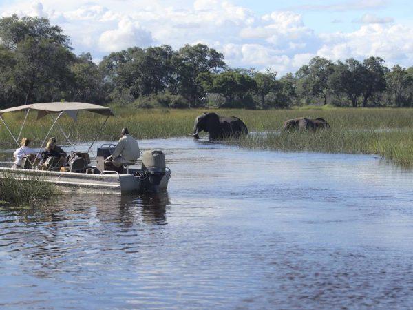 AndBeyond Xudum Okavango Delta Lodge Boating