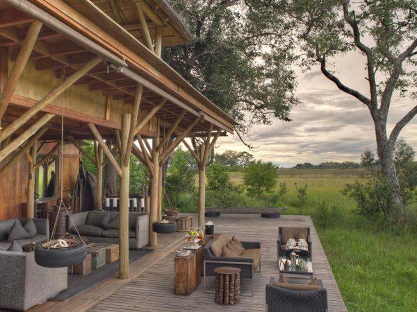 AndBeyond Xudum Okavango Delta Lodge Common Area