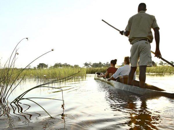 AndBeyond Xudum Okavango Delta Lodge Mokoro