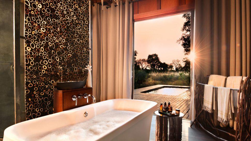 AndBeyond Xudum Okavango Delta Lodge bathroom
