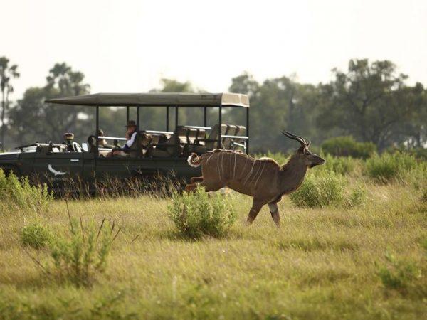 AndBeyond Xudum Okavango Delta Lodge private Vehicle