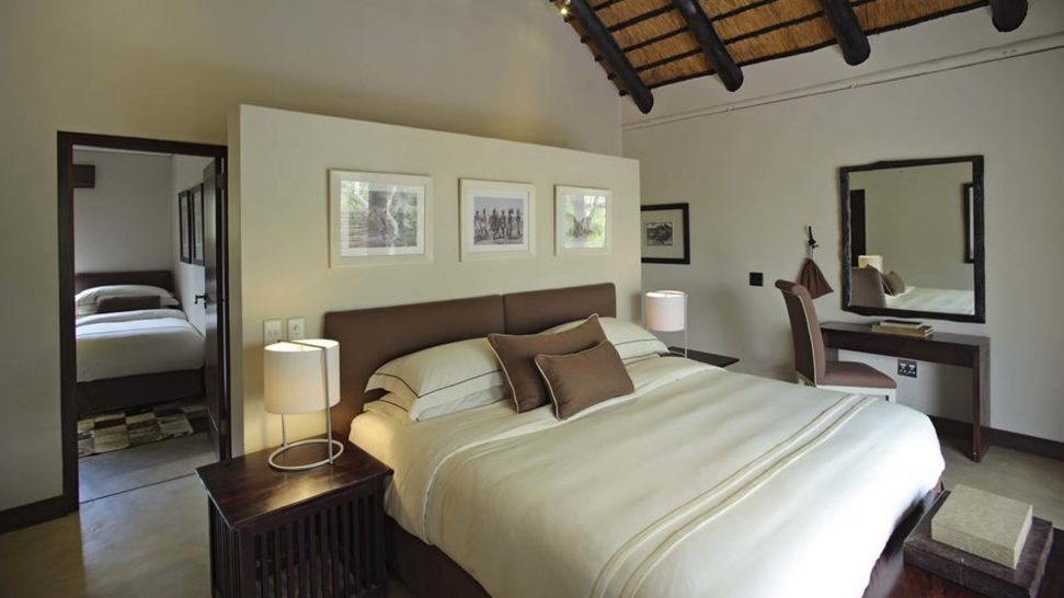 AndBeyond Phinda Mountain Lodge family suite room