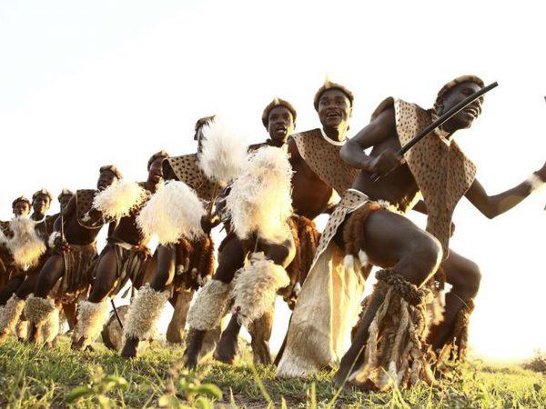 AndBeyond Phinda Mountain Lodge zulu dancers
