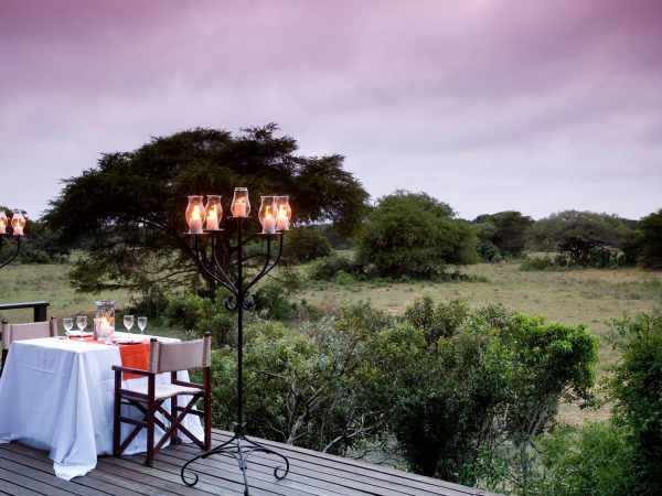 Andbeyond Phinda Forest Lodge Private Dining