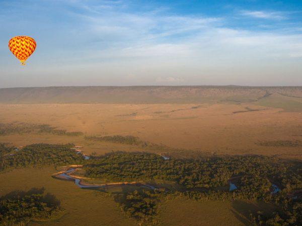 Angama Mara Hot air balloon