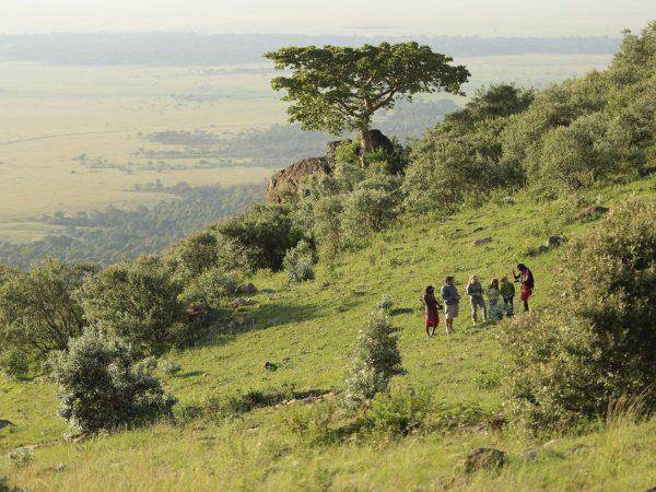 Angama Mara Hiking