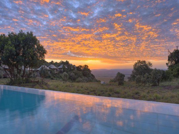 Angama Mara Main Pool