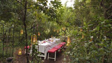 Angama Mara Out Door Dining