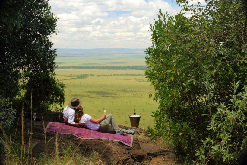 Angama Mara Out of Africa Picnic