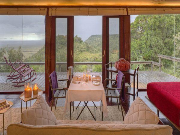 Angama Mara Tented Suite