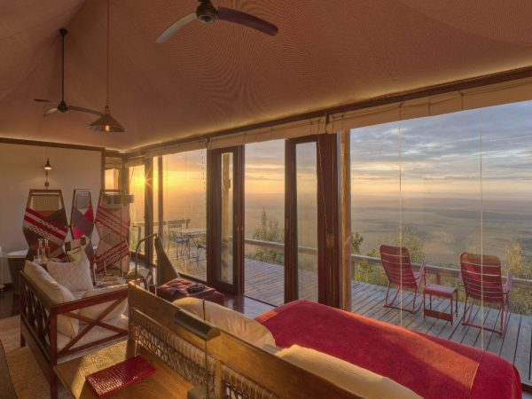 Angama Mara Tented Suite VIew