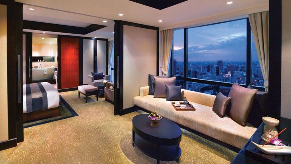 Banyan Tree Bangkok Serenity Club One Bedroom Area