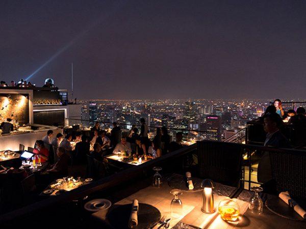 Banyan Tree Bangkok Vertigo Moon Bar