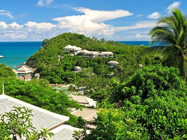 Banyan Tree Ocean View Pool Villa View