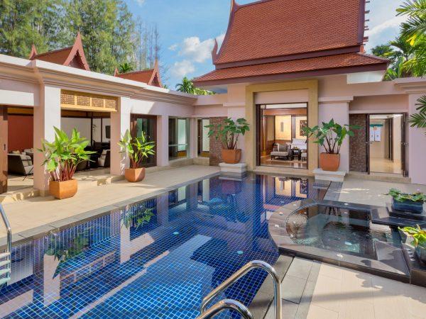 Banyan Tree Phuket Exterior Pool view