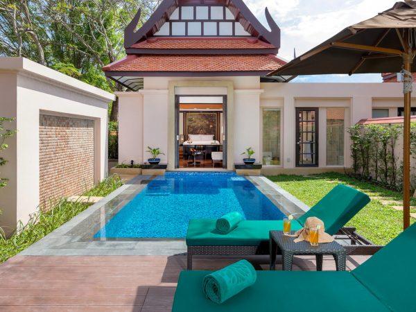 Banyan Tree Phuket lagoon pool villa