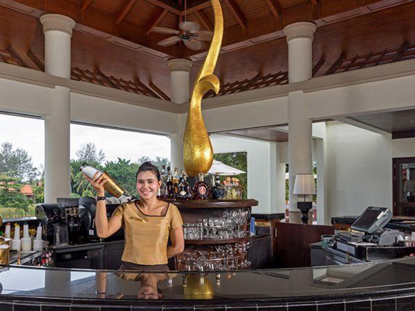 Banyan Tree Phuket lobby bar