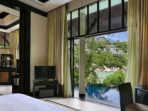 Banyan Tree Samui Partial Ocean View Pool Villa View