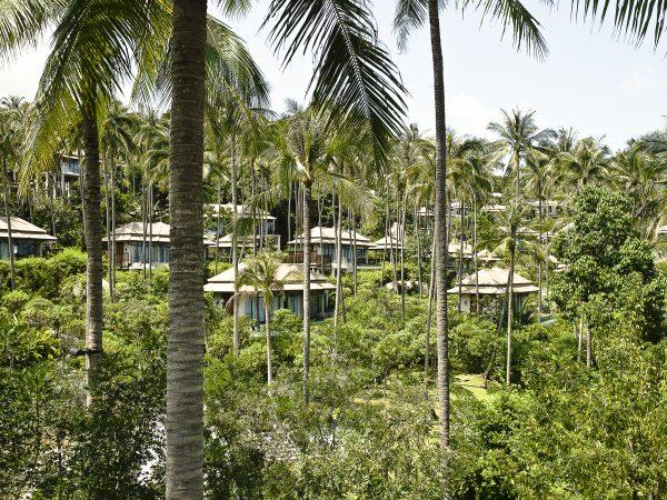Banyan Tree Spa Sanctuary Pool Villa view