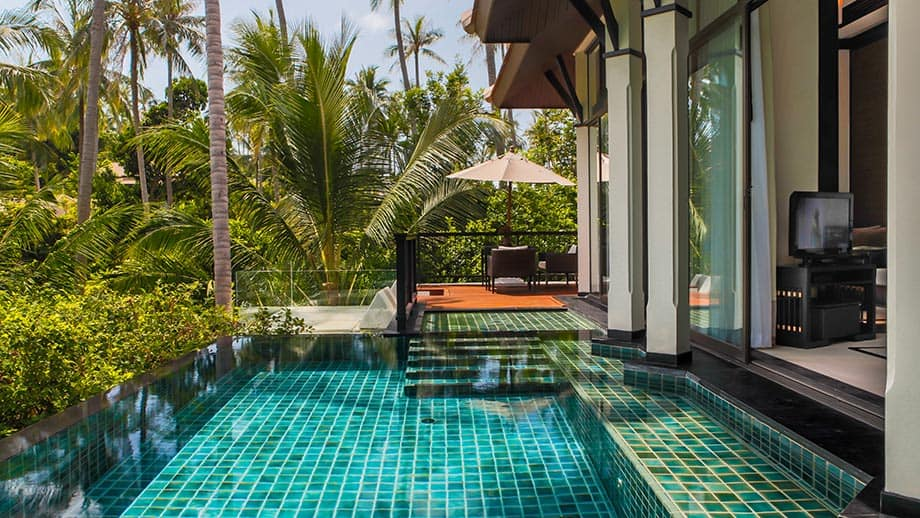 Banyan Tree Spa Sanctuary Pool Villa