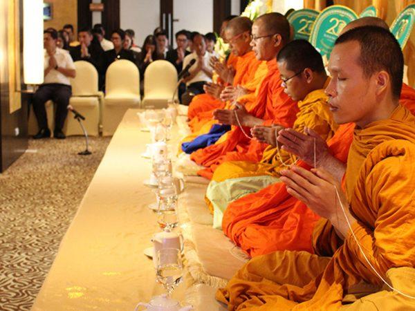 Banyan Tree Bangkok Blessing Ceremony