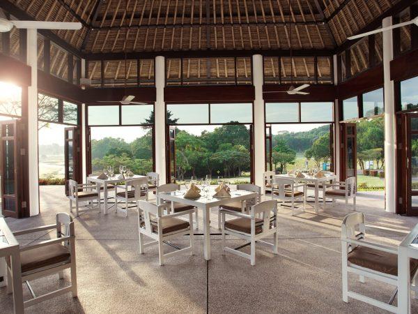 Banyan tree bintan restaurant view