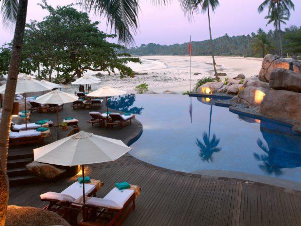 Banyan tree bintan swimming pool