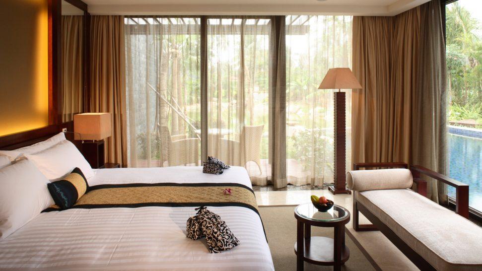 Banyan tree sanya Bedroom Villa