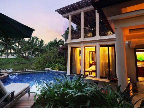 Banyan tree sanya Guestroom Ocean Pool