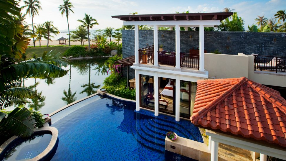 Banyan tree sanya Ocean Pool Villa