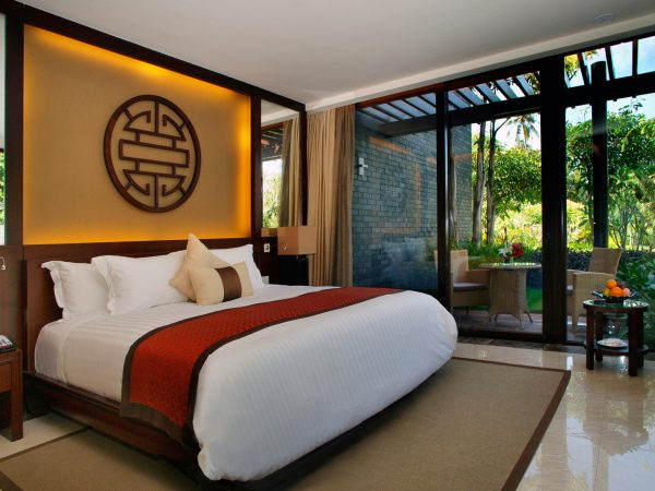 Banyan tree sanya bedroom view