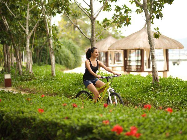 Banyan tree sanya bike