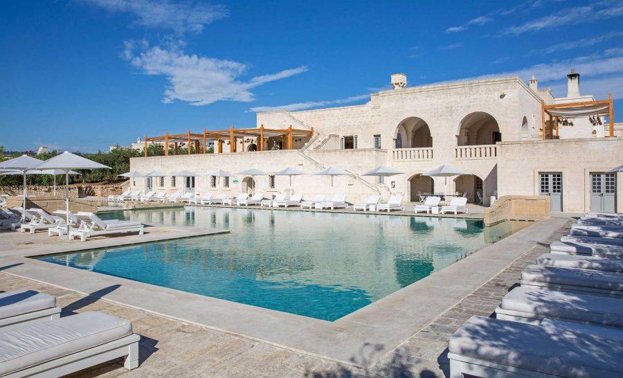 Borgo Egnazia borgo pool
