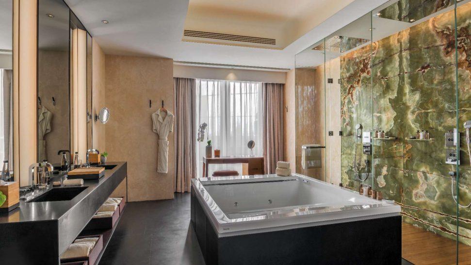Bulgari Hotel Beijing Bathroom