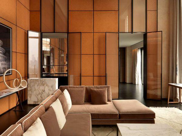 Bulgari Hotel Beijing Bedroom