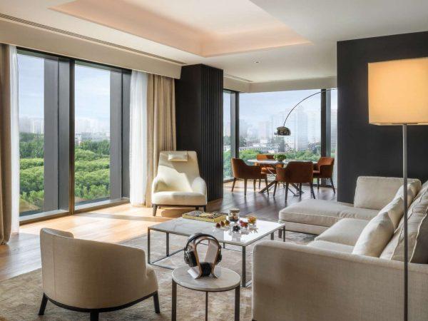 Bulgari Hotel Beijing Bedroom View