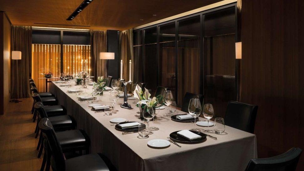 Bulgari Hotel Beijing Dining