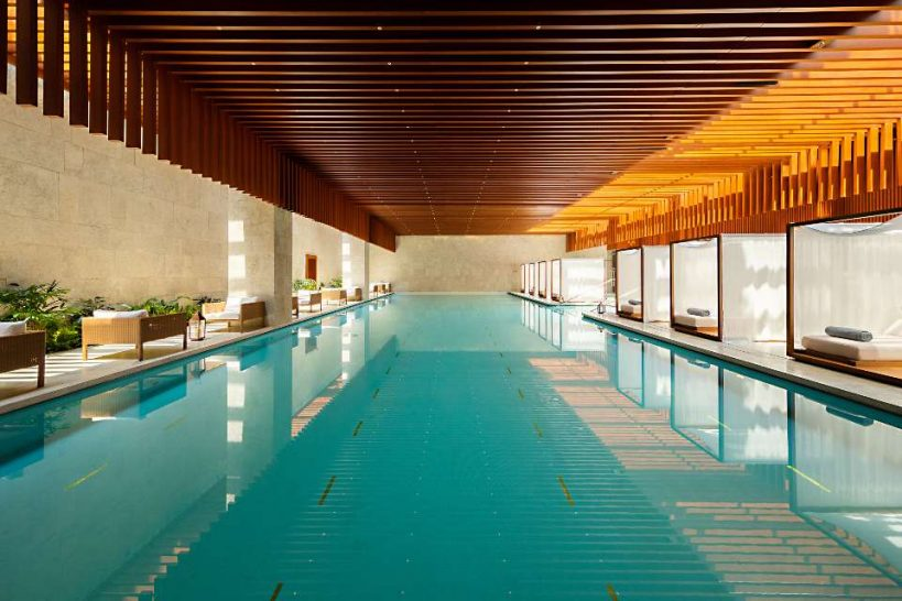 Bulgari Hotel Shanghai Spa Pool