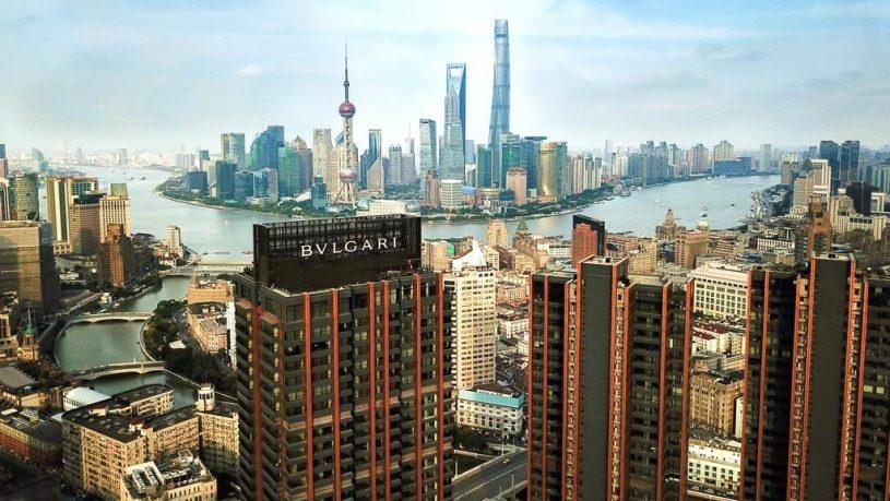 Bulgari Hotel Shanghai View